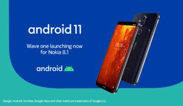 Android 11 su Nokia 8.1