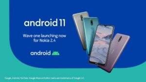 Android 11 arriva su Nokia 2.4