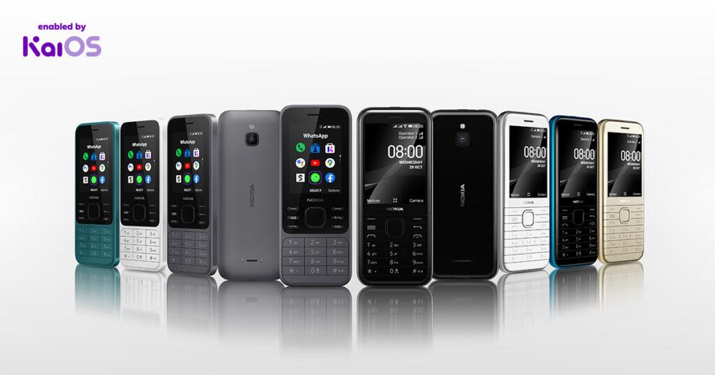 Nokia 6300 4G e Nokia 8000 4G - catturare uno screenshot