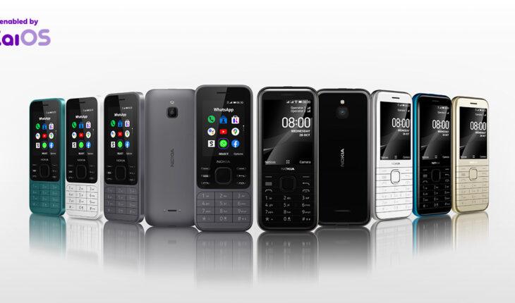 Nokia 6300 4G e Nokia 8000 4G
