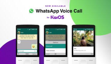 KaiOS - Supporto chiamate WhatsApp