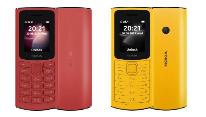 Nokia 105 4G e Nokia 110 4G