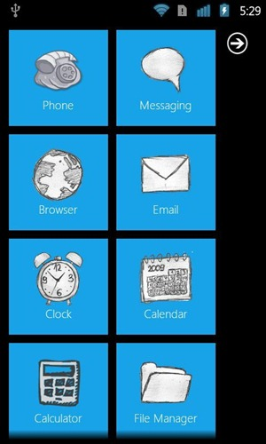 Wp7 launcher android home thumb
