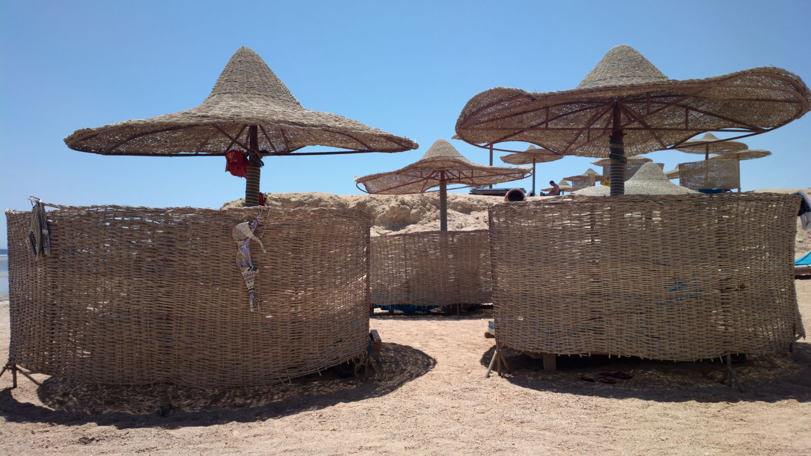 Ombrelloni del Sea Club Hotel