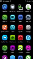 Temi Nokia N9: Emboss