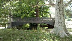 Parco Sempione di Milano - Ponte sul Laghetto